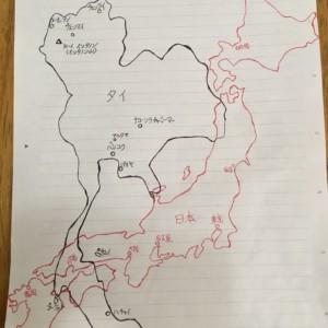 タイの地誌概要。日本との意外な共通点と驚きの広さ、そして人口集中。